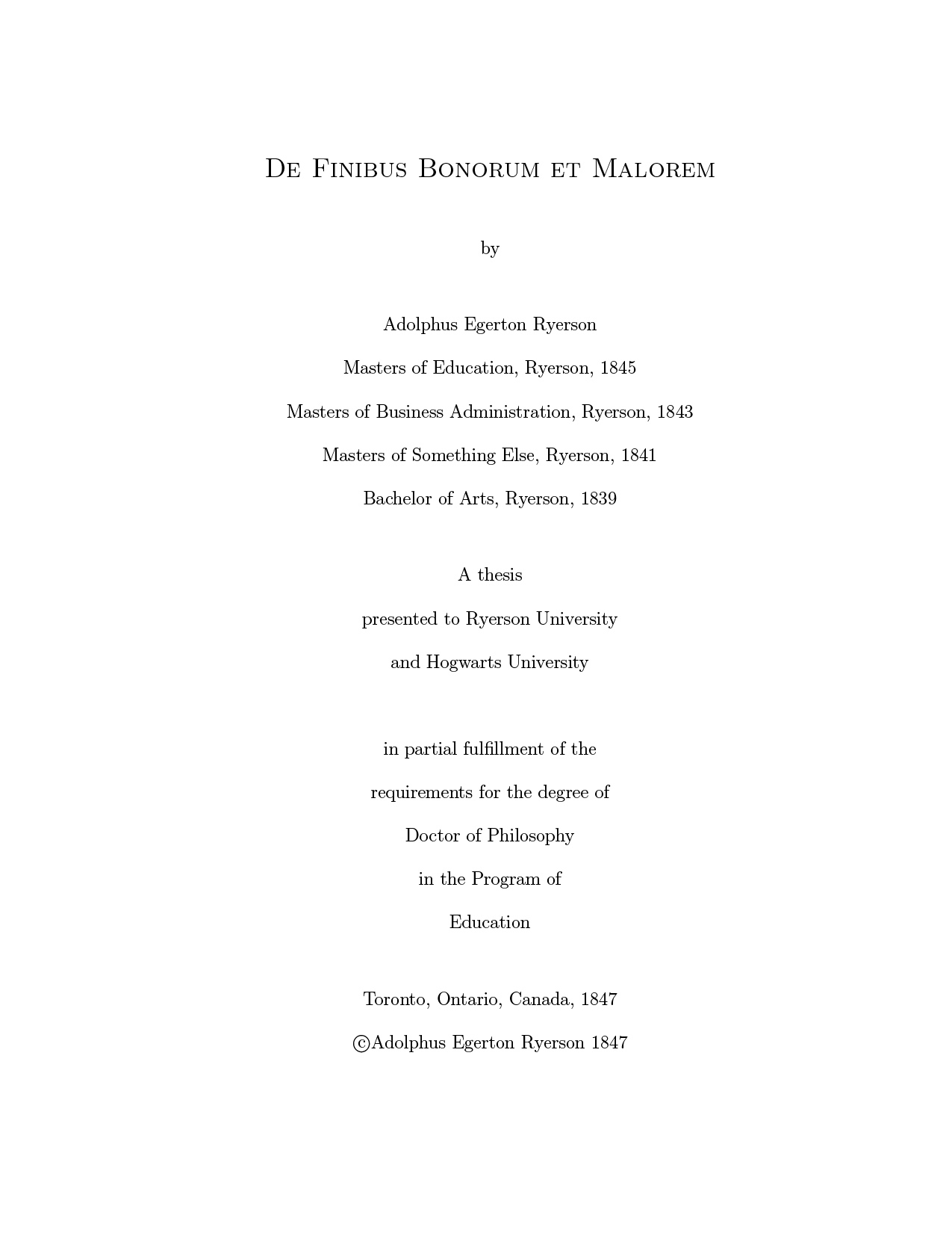 Mcmaster thesis latex template