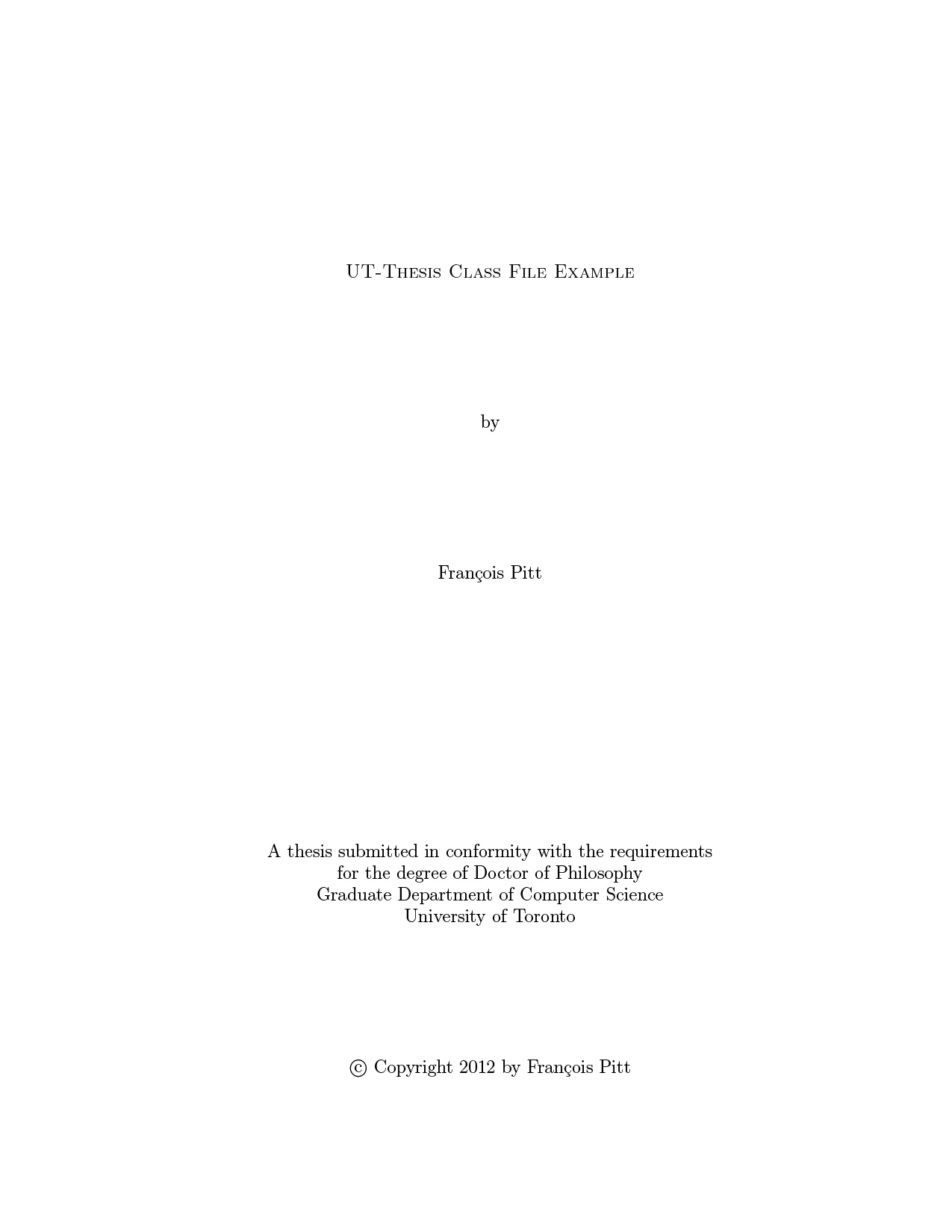 sgs university of toronto thesis template